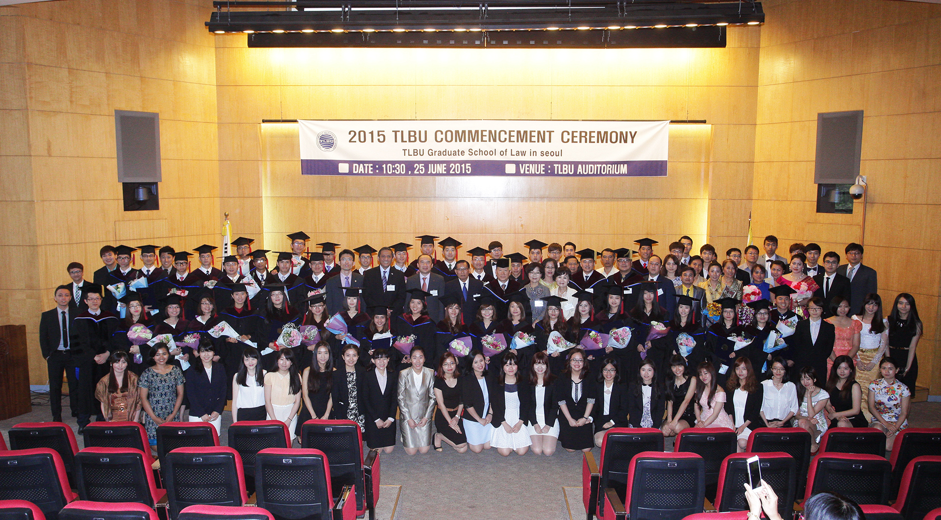 2015 TLBU Commencement Ceremony